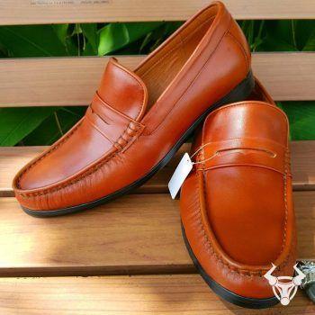 Giày Mọi Nam Da Bò Cao Cấp GM02