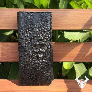 Ví Cầm Tay Nam Da Cá Sấu Đựng Iphone 6 Plus VCT12