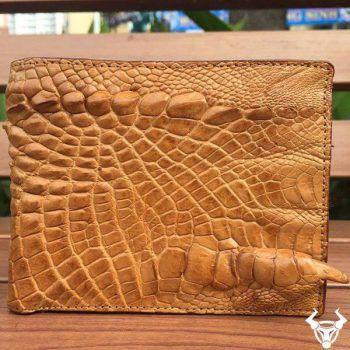 Ví Nam Da Cá Sấu Thật Hàng Độc BCS42