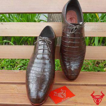 Giày Tây Nam Da Cá Sấu Cao Cấp GA0208
