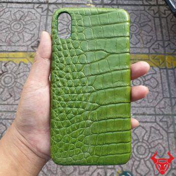 Ốp Lưng Da Cá Sấu iphone XS Max OA1408