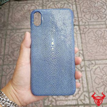 Ốp Lưng Iphone XS Max Da Cá Đuối OA12A4