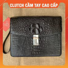 Clutch Cầm Tay Cá Sấu Cao Cấp DD2A4-A
