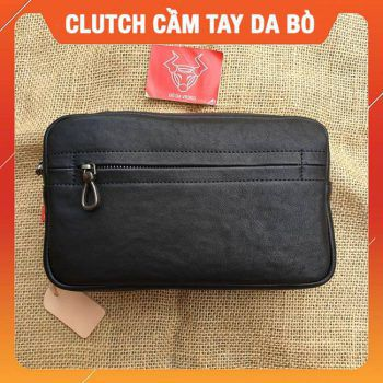 Clutch Cầm Tay Da Bò Cao Cấp CL24
