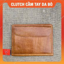 Clutch Cầm Tay Da Bò Cao Cấp CL28