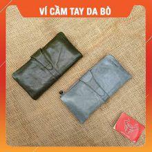 Ví Da Bò Cầm Tay Nam Sang Trọng VICT04