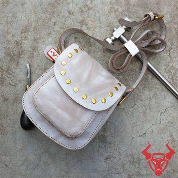 Túi Đeo Vai Nữ Handmade Da Bò TDN17-XC